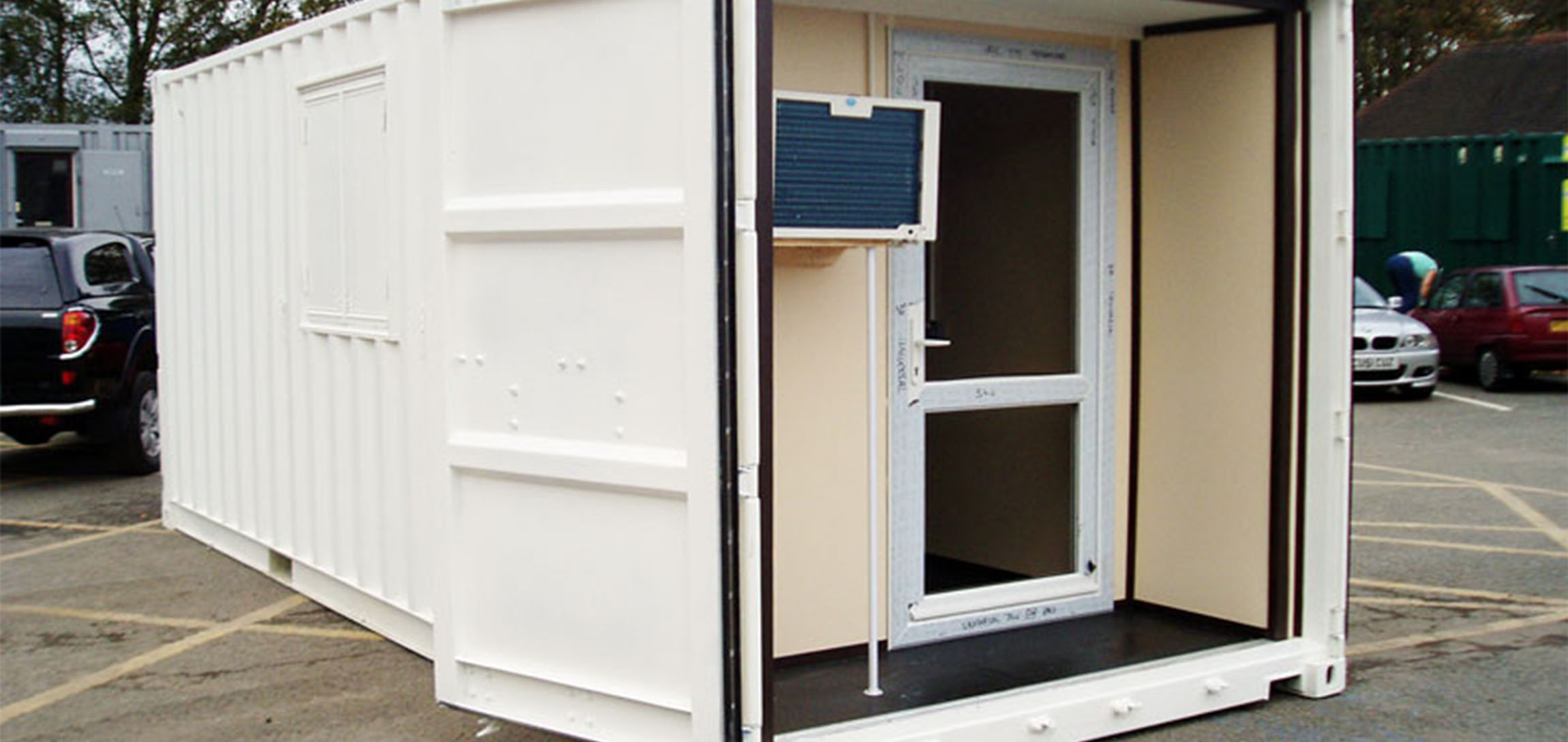 container conversion uk