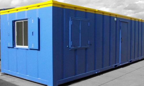 24ft x 9ft Steel Office Cabin