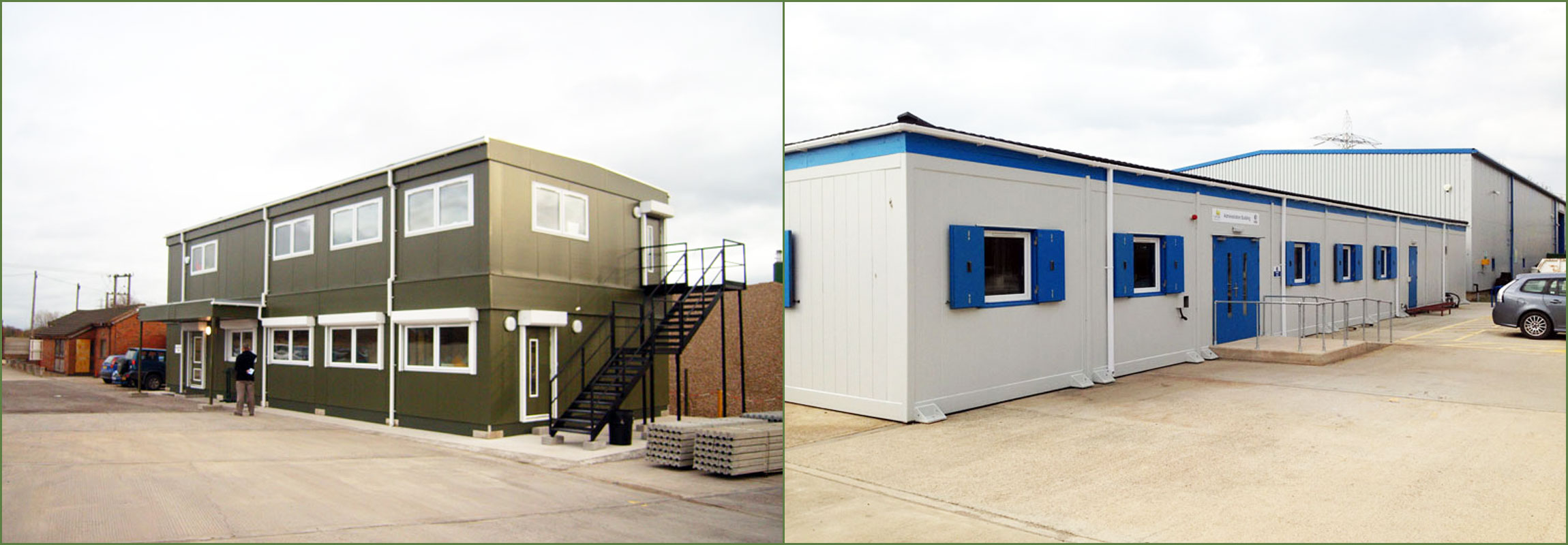 Modular Buildings Range