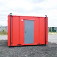 12ft x 9ft Steel AV 2+1 Toilet Block