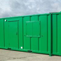 24ft x 9ft Steel AV - Toilet, Shower & Changing Room